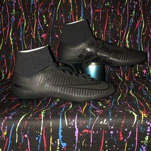 Men's Nike Mercurial Victory VI DF FG Black